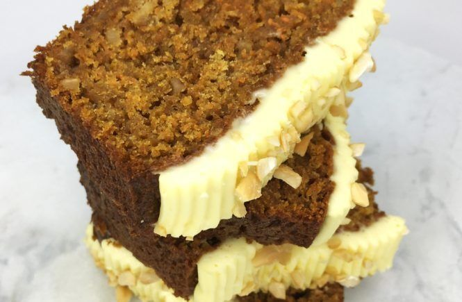 Moist Carrot Loaf Cake by Philippe Conticini: Heavenly ...
