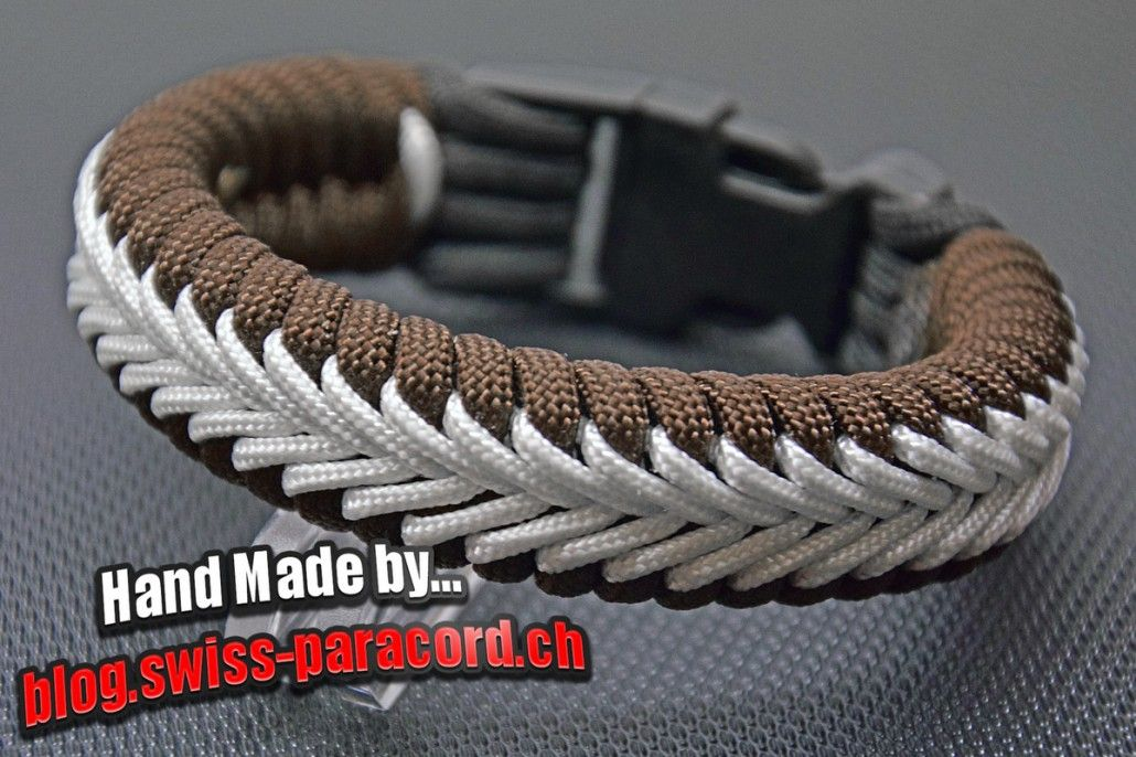 Hervorragend Center Stitched Fishtail Armband | Paracord | Paracord, Paracord FN58