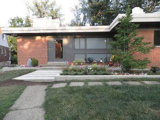 Best Cincinnati Modernation Mid Century Modern Curb Appeal 400 x 300