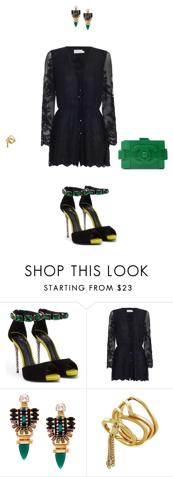 """""""Cute clutch!"""" by sebolita ❤ liked on Polyvore featuring Giuseppe Zanotti, Zimmermann, Elizabeth Cole and Vince Camuto"""