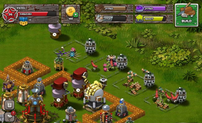 Backyard Monsters: Unleashed Mobile Game, Game Ui - Backyard Monsters: Unleashed Mobile Games Pinterest Mobile