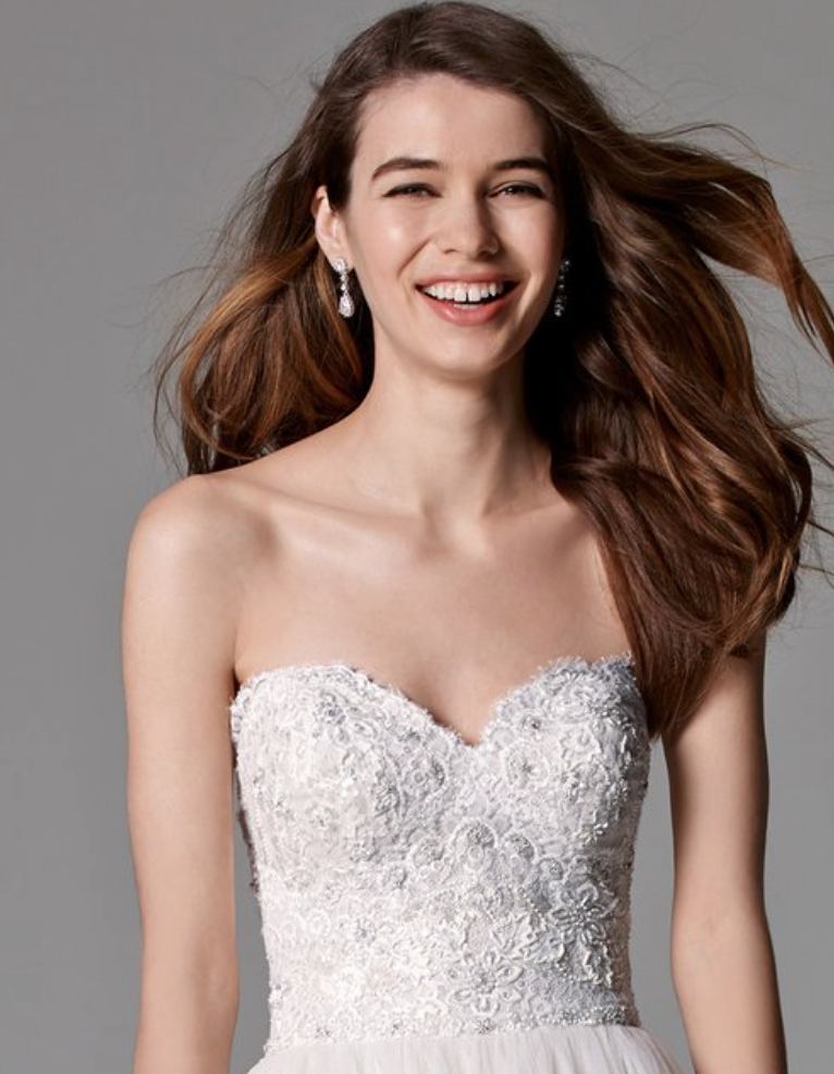 Watters Brides Sheridan Gown $2239 : size 12 Ivory/Almond | THE GOWN ...