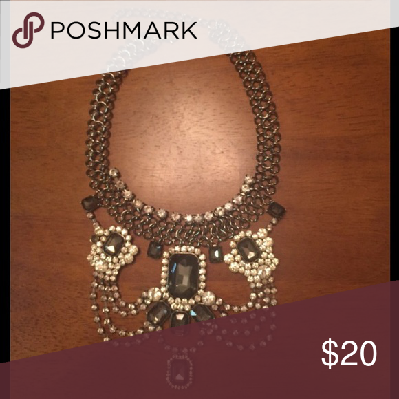 BOGO half off! Statement Choker with jewel collar NWOT Fancy elegant great for date night or girls night out All jewelry buy one get one half off!! Jewelry Necklaces