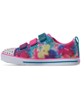 Skechers Little Girls' Twinkle Toes: Sparkle Lite Rainbow
