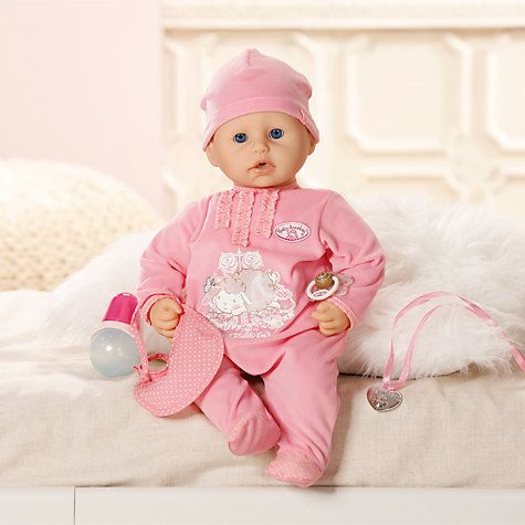 Zapf Baby Annabell Doll | Baby sounds, Baby doll ...