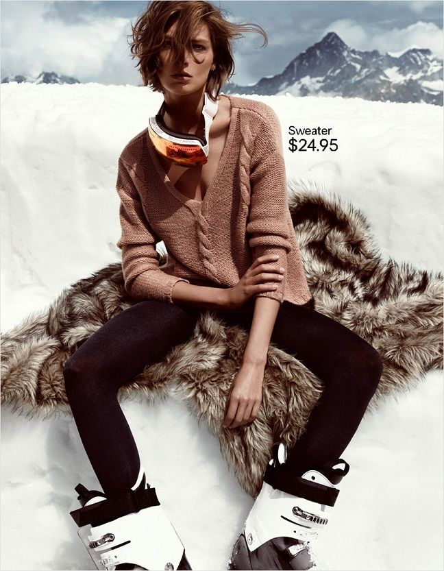 Daria Werbowy for H  Love this whole shoot.