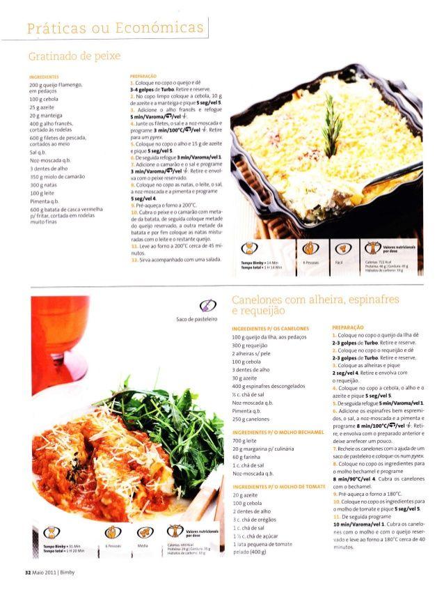 Revista bimby 2011 05 n06 | nuevo in 2019 | Fish recipes