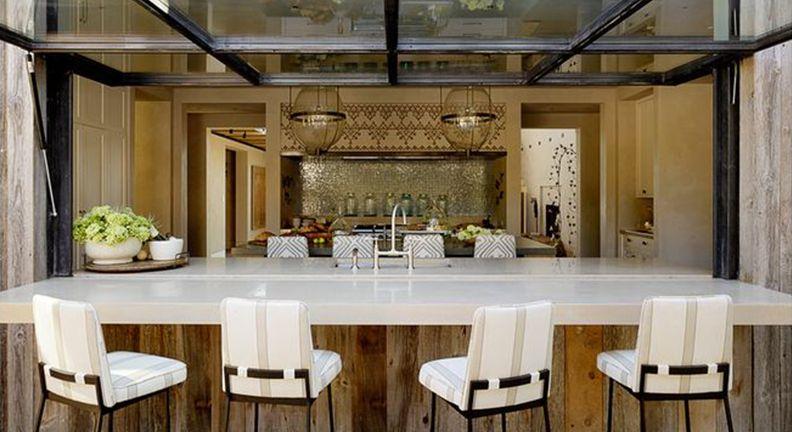Style alert indoor outdoor bars kitchen bath trends for Indoor garden kitchen design