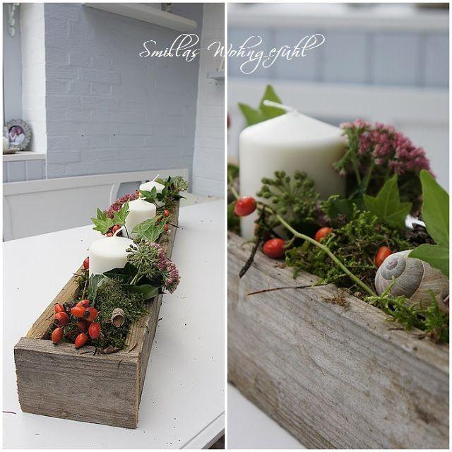 Paletten-Deko für den Herbst #palettendeko