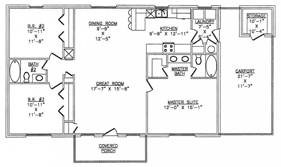 Metal building home floor plans 64 pictures photos for 1500 sq ft metal building