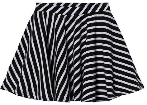 Papu Striped Round Skirt
