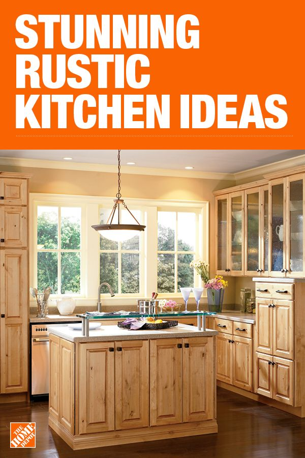 The Home Depot Has Everything You Need For Your Home Improvement Projects Click To Learn More Rustic Kitchen Home Depot Kitchen Interior Design Kitchen Small