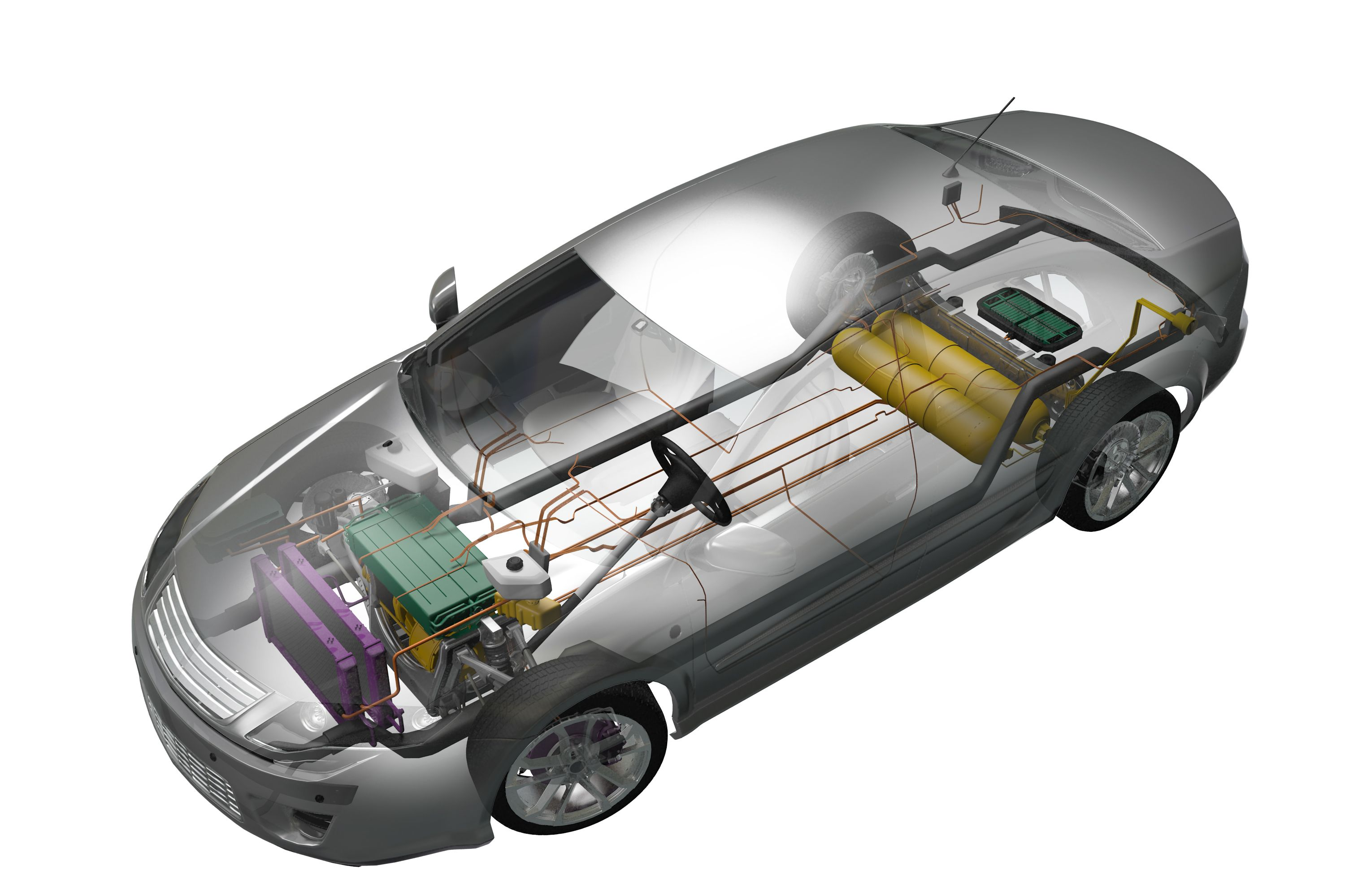 Model Hydrogen Fuel Cell Cars Fuel Cell Vehic...