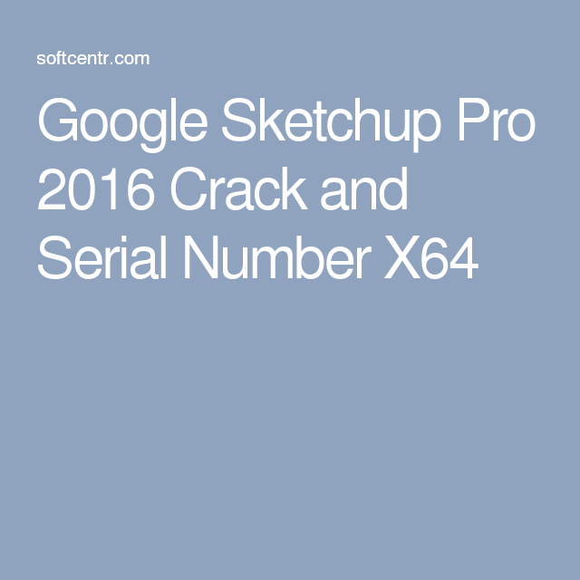 sketchup serial numbers