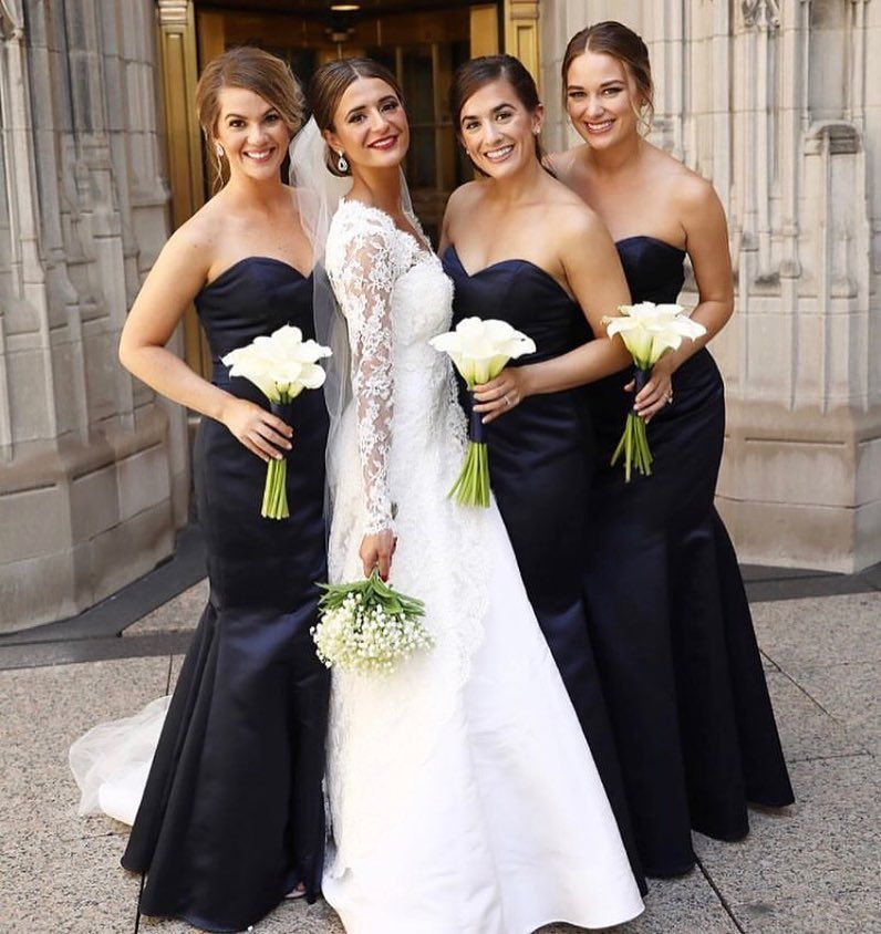ece9be4532 Stunning  HPbridesmaids in style 5668!  hayleypaigeoccasions  bridesmaids   style5668  weddinginspiration  bridalparty  bride