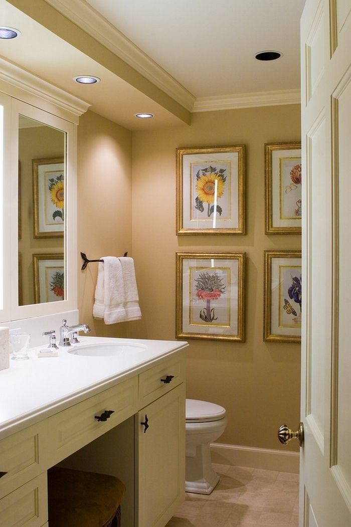 ▷ 1001 + Ideas de cuadros para baños modernos con estilo | Bathroom ...
