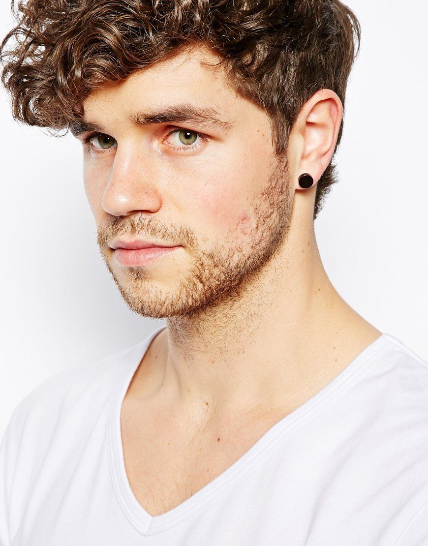 Pin by isaacsc24 on style   Guys ear piercings, Men