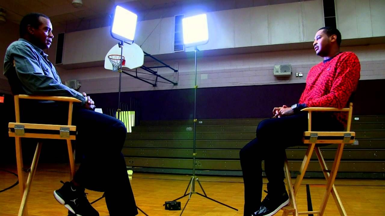 One on One with Ahmad: Carmelo Anthony-Promo