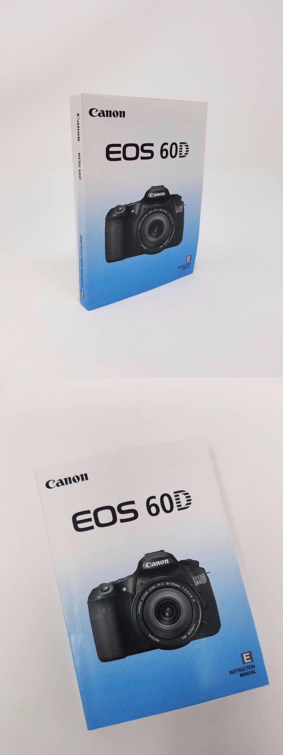 Camera Manuals and Guides 4684: Canon Eos 60D Instruction Owners Manual  Book New ->