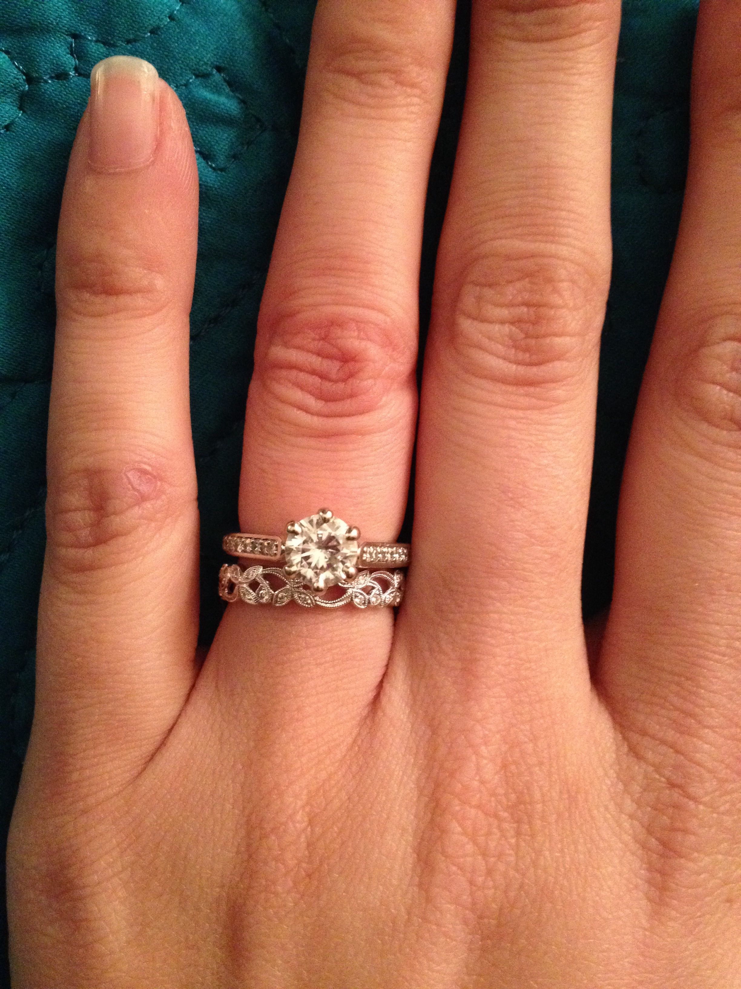 Post your mismatched sets & rings with different mm widths