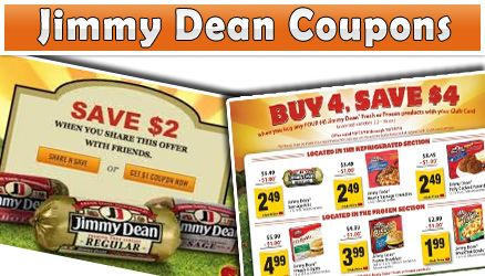 While using a Jimmy Dean Coupons it is advised to purchase items in bulk so that one can extract maximum benefits of the discount
