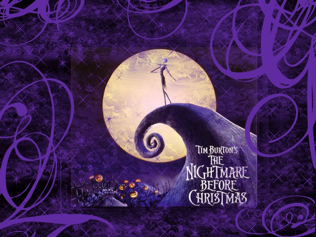 the Nightmare Before Christmas   Movies   Pinterest   Purple christmas