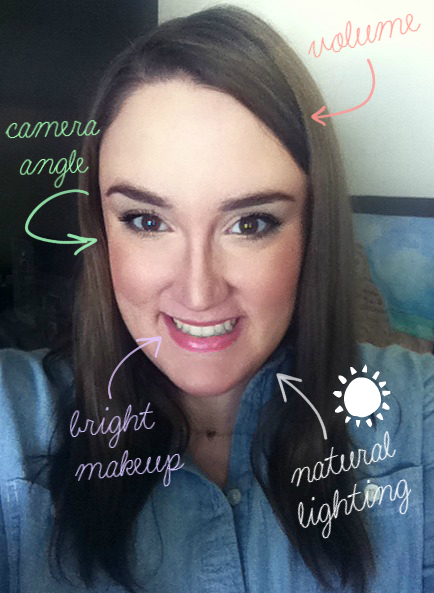 Sparkle Mine How To Take The Perfect Selfie Perfect Selfie Taking Good Selfies Bright Makeup