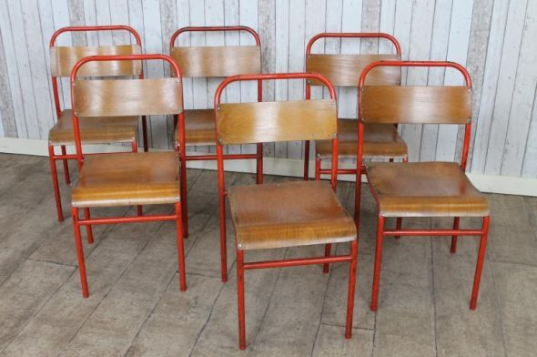 these industrial vintage stacking school chairs are one of our large