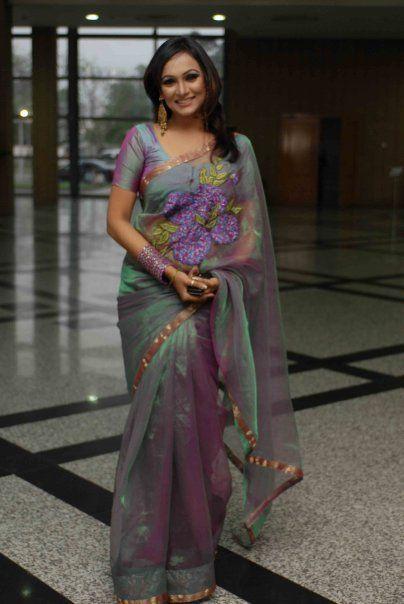 Afsana Ara Bindu In Saree Bengali Beauty Pinterest Saree