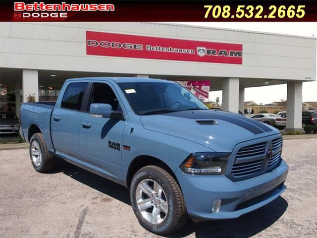 2015 Dodge Ram 1500 in the Dark Ceramic Blue paint and the Rocky ...