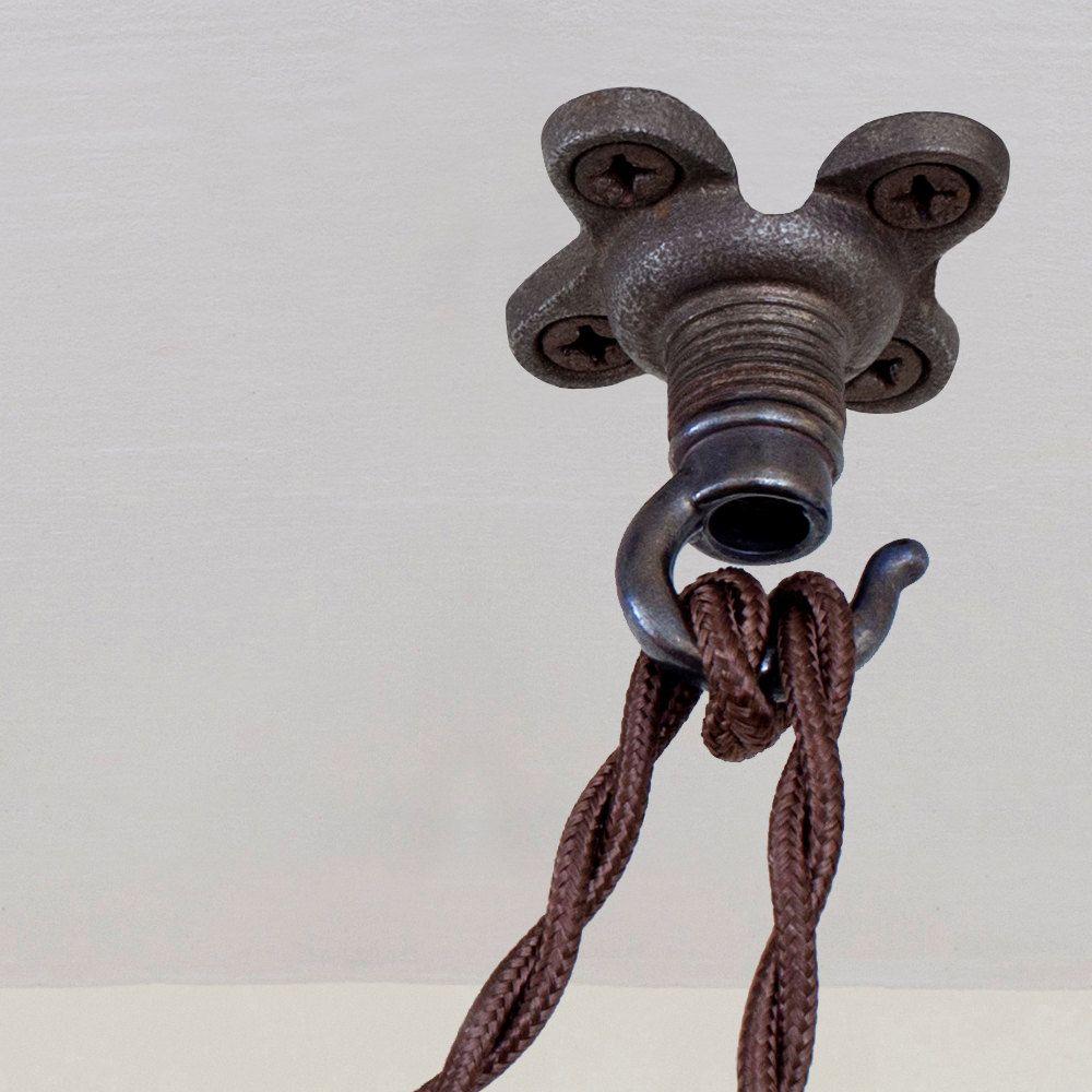 Swag Hooks Vintage Ceiling Hooks Screw Hooks Light Hooks ~ Plant Hooks Plant Hooks Retro Blue Hooks