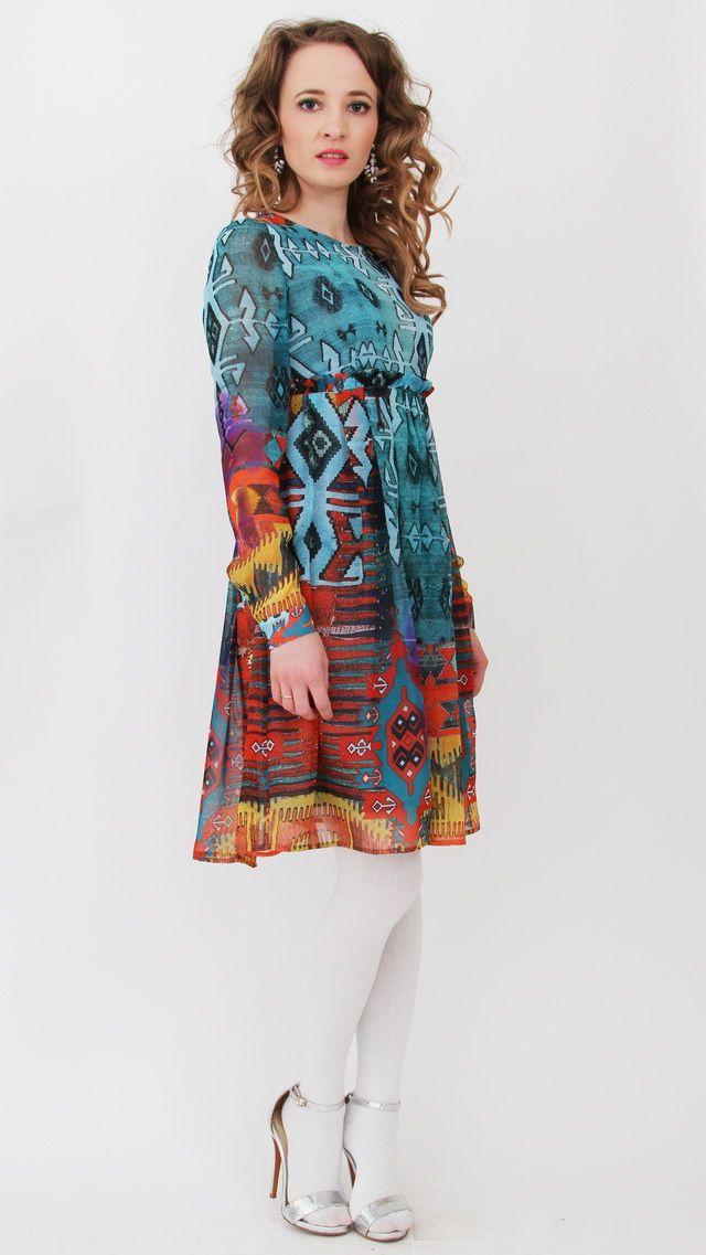 7dd14d31025 Платье из шифона