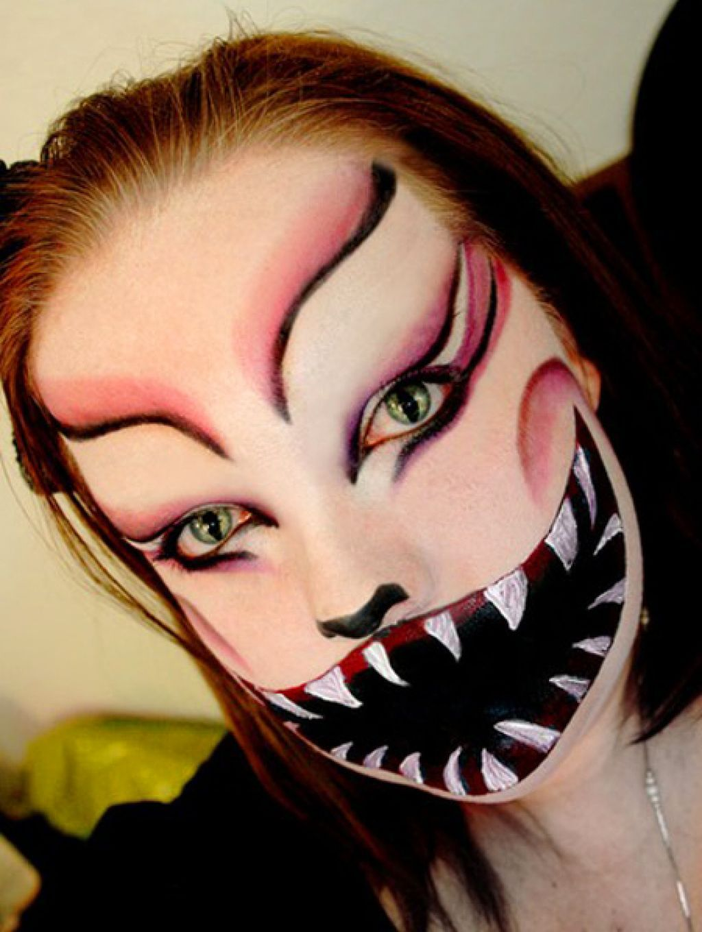 images of halloween face picture painting women 3d best tattoo design ideas - Female Halloween Face Painting