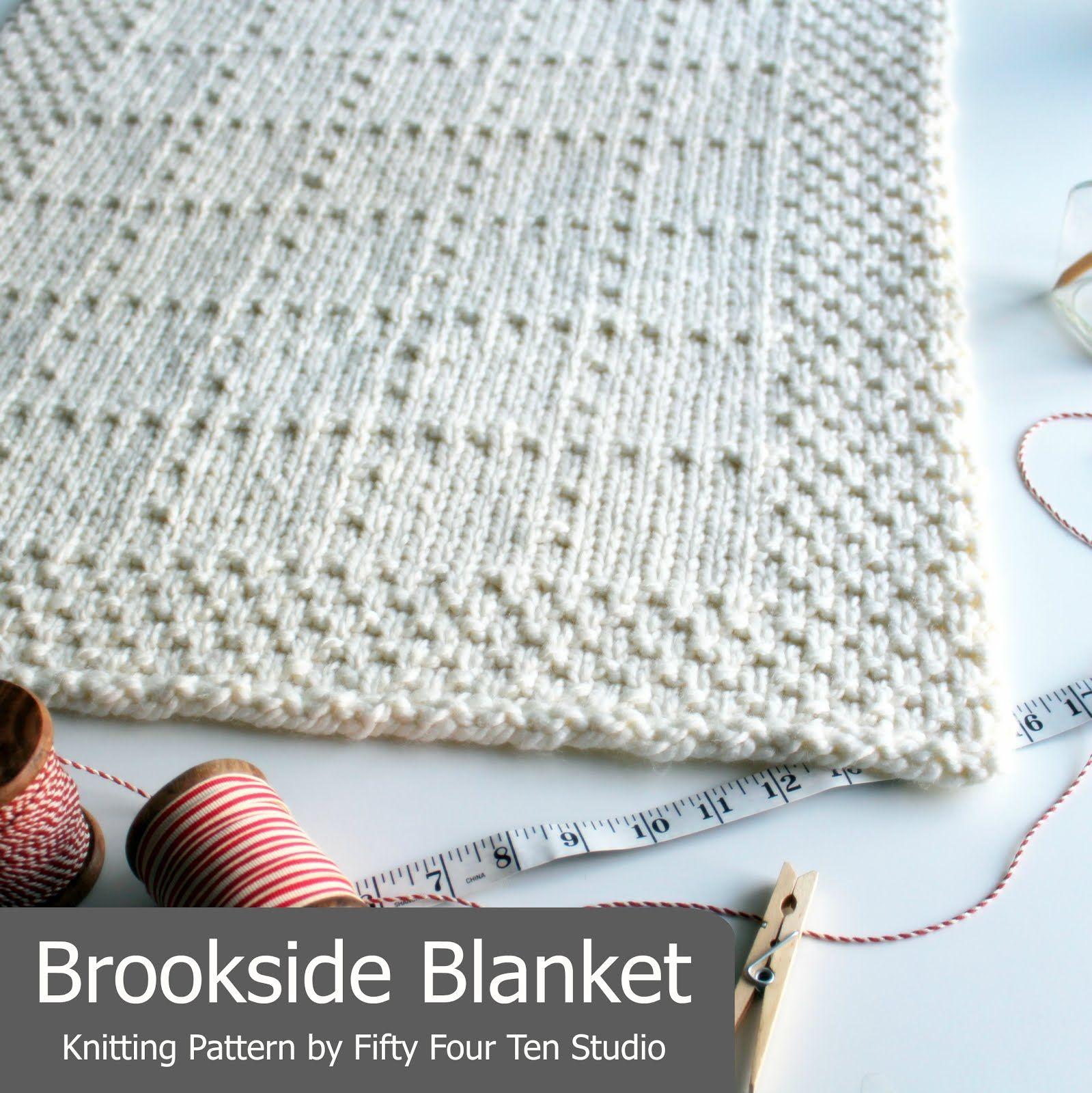 Brookside Blanket | Crochet | Pinterest | Manta, Cobija y Tejido