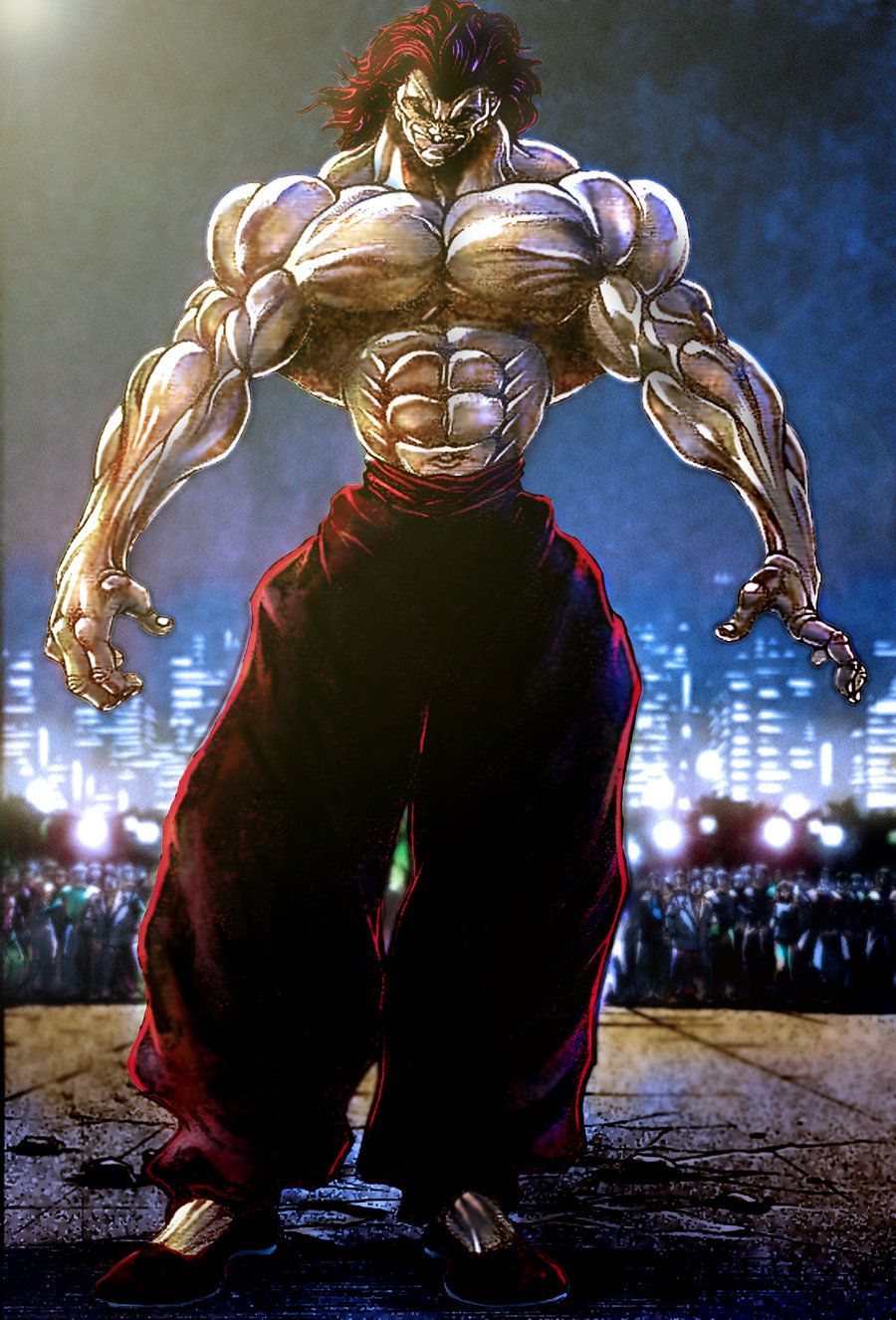 Pin by rob on baki (With images) Grappler, Anime images