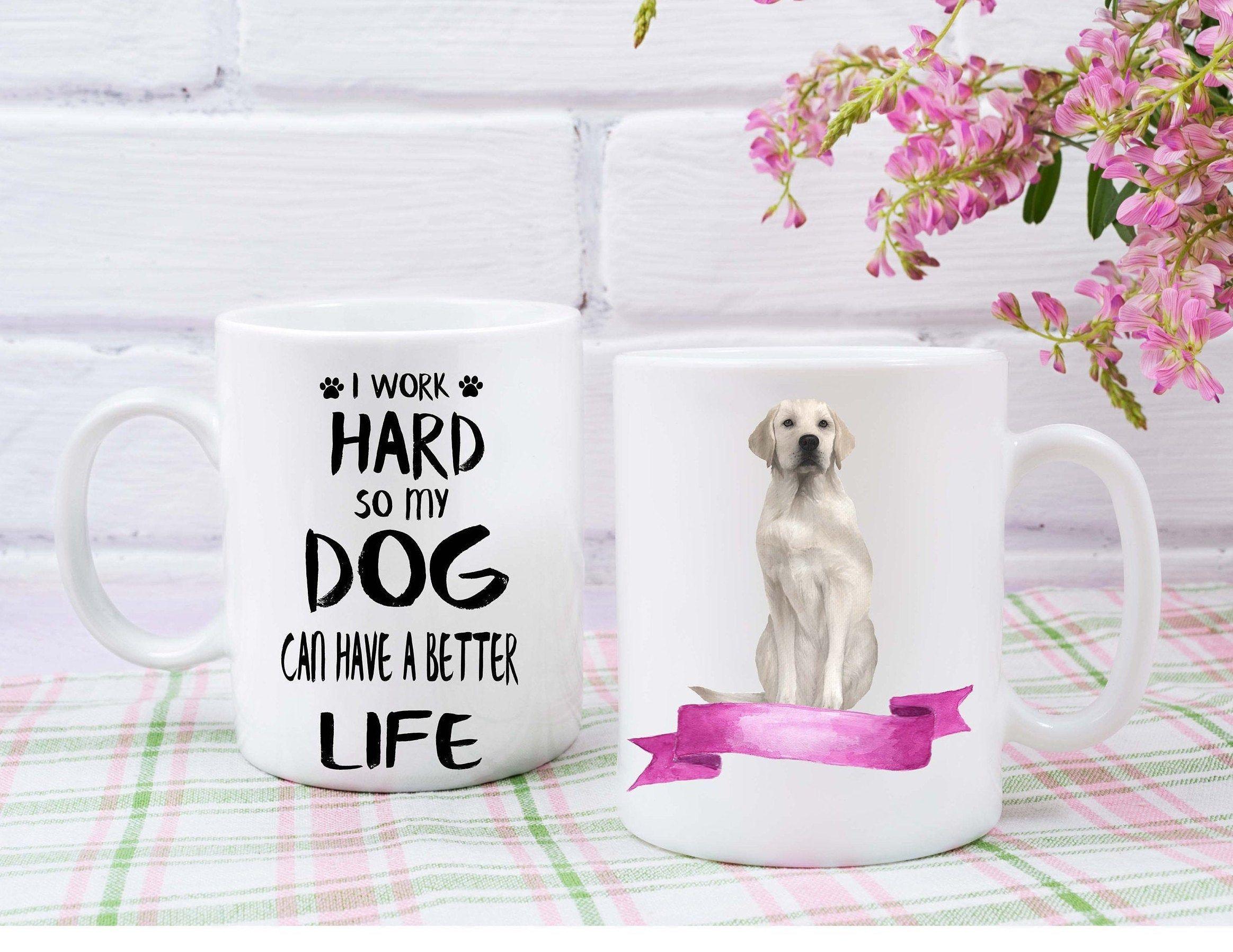 Labrador Retriever custom mug dogs lovers custom gifts dogs breeder custom dog name mugs Mug