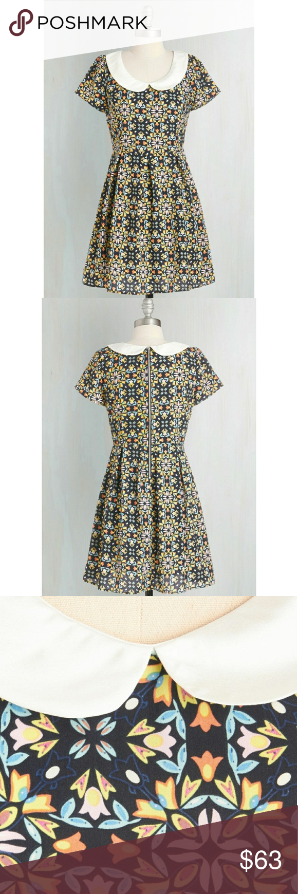 Modcloth, Sunny Girl Sz L Kaleidoscope to See You New without tags attached and in perfect condition. Modcloth Dresses