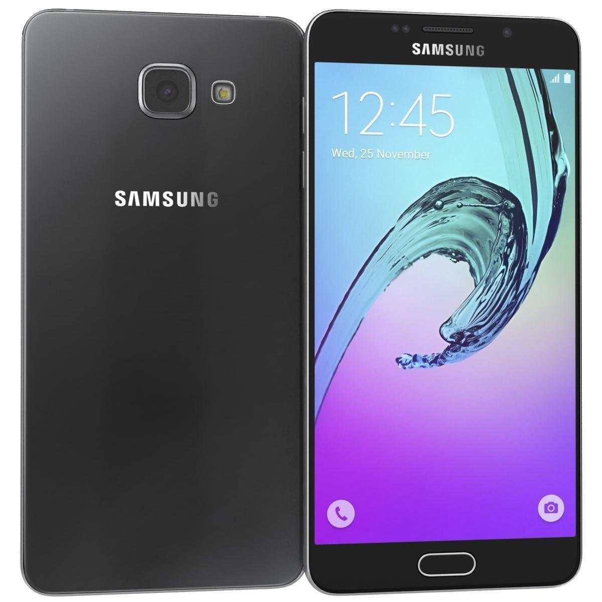 Samsung Galaxy A7 2016 Black 3d Model Ad Galaxy Samsung Model Black Samsung Galaxy A3 Samsung Galaxy Galaxy