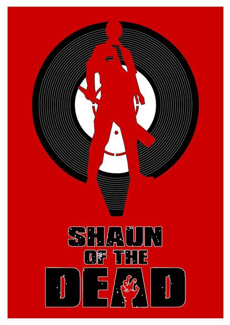 Shaun Of The Dead Streaming : shaun, streaming, Alternative, Shaun, Posters, Streaming, Movies, Online,, Shauns,, Online