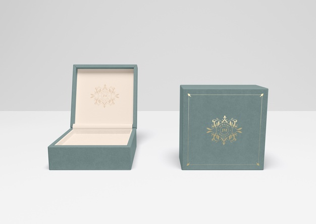 Download Download Open And Closed Blue Gift Box With Cover For Free Blue Gift Gift Box Mockup Free Psd