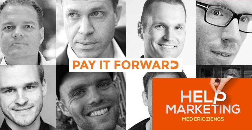 Hm044 Pay It Forward Help Marketing Tankegangen Podcasts Marketing Content Marketing