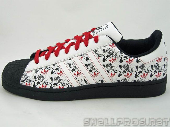Adidas Superstar Black Boys