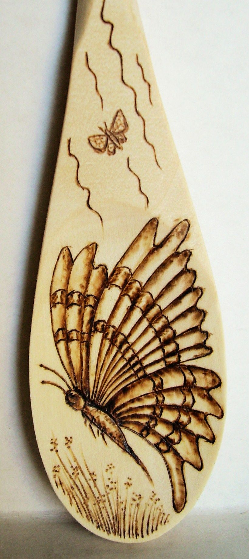20 2009 Quot Butterfly Quot Side View In Flight Wood Burning