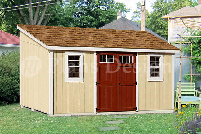 10 X 14 Lean To Shed From Www Plansd Com Building A Shed Shed Plans Shed