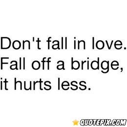 Love And Hate Quotes Enchanting Falling In Love Hurts  Quotepix  Quotes Pictures Quotes