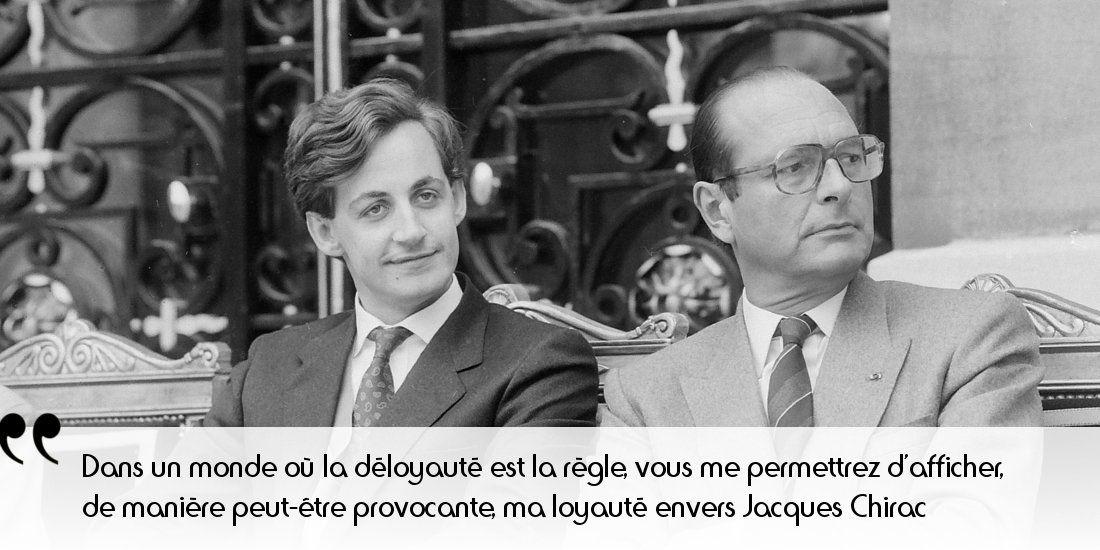 Aujourd'hui sur notre site : Chirac et Sarkozy. Duel fratricide, après un duo familial - père-fils de bonne droite