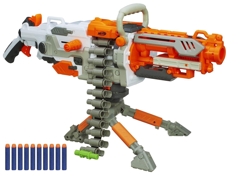 COMMUNITY] Nerf GATLING GUN | Nerf Vulcan Mod by Darryl C. - YouTube
