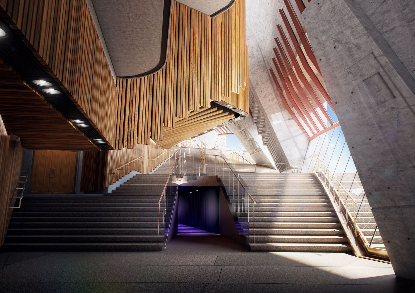 Sydney Opera House to Undergo $202 Million Renovation,Northern Foyer. Image Courtesy of Sydney Opera House