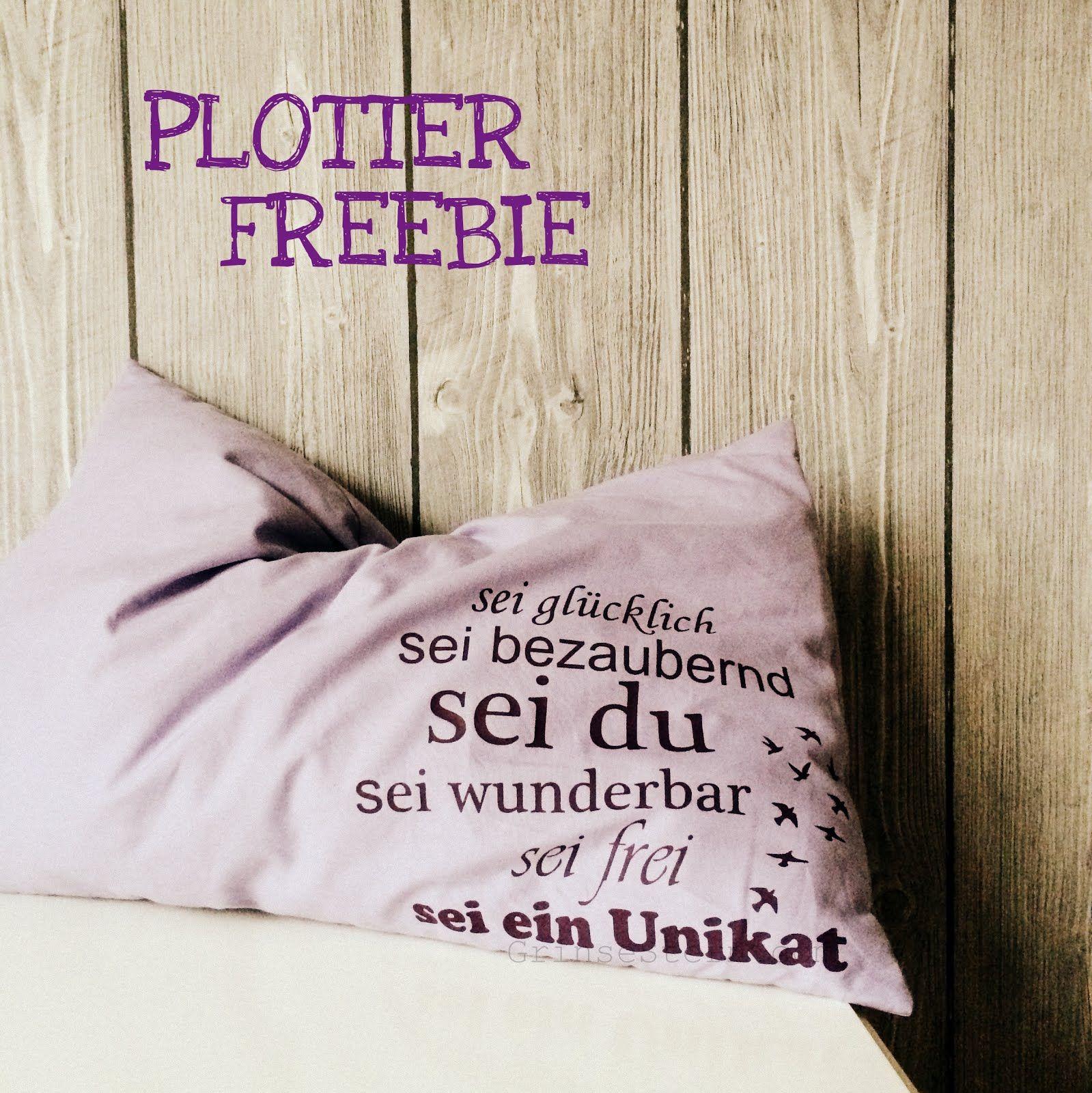 Selber Naehen Vorlagen: Sei Wunderbar {plotterliebe} ...