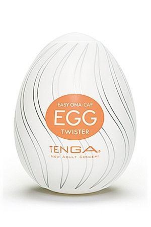 Masturbateur Tenga Egg Twister : nouveau revêtement interne, nouvelles sensations